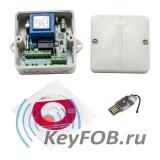 Радиоуправление одноканальное NERO Radio 8615 IP65 с USB-stick